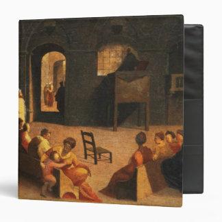 St Bernardino de la predicación de Siena