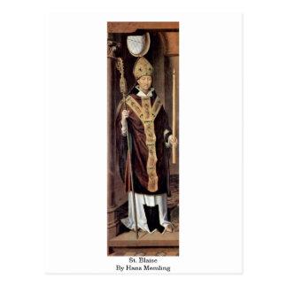 St. Blaise de Hans Memling Tarjetas Postales