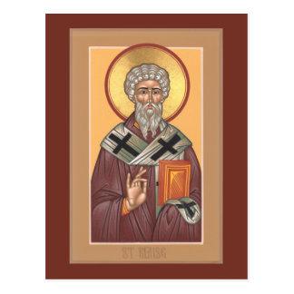 St. Blaise Prayer Card