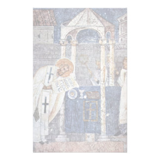 St. Blaise The Great By Meister Der Sophien-Kathed Stationery