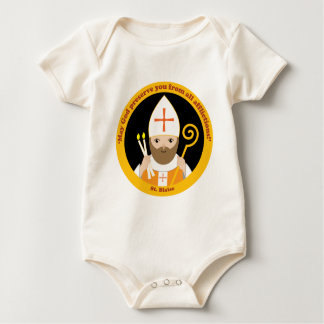 St. Blaise Baby Bodysuits