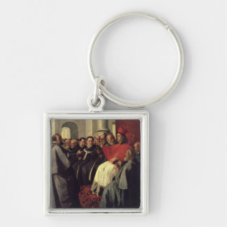 St. Bonaventure (1221-74) at the Council of Lyons Keychain