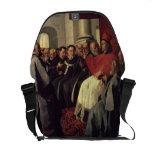 St. Bonaventure (1221-74) at the Council of Lyons Messenger Bag