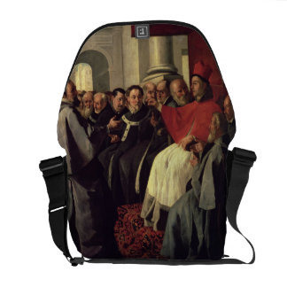 St. Bonaventure (1221-74) at the Council of Lyons Messenger Bag