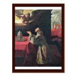 St. Bonaventure By Zurbarán Francisco De Post Cards