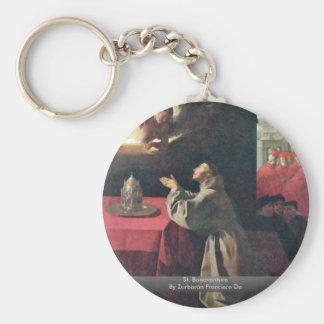 St Bonaventure de Zurbarán Francisco De Llavero Redondo Tipo Pin