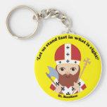 St Boniface Llavero Personalizado