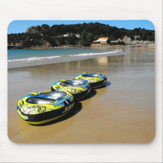 St Brelade's Bay at low tide Mouse Pad