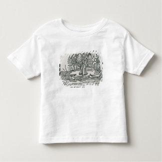 St. Brendan on the fish island Toddler T-shirt