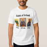 St. Brendan, patrick, Aidan, santos de Irelan… Playeras
