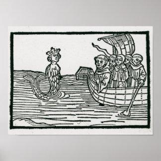St Brendan y la sirena Poster