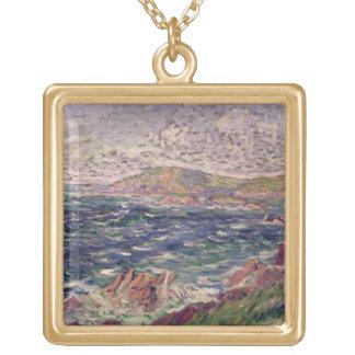 St. Briac, 1885 (oil on canvas) Custom Necklace