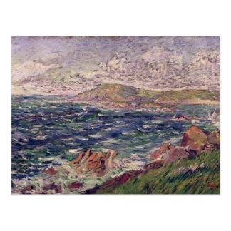 St Briac 1885 oil on canvas Postcards
