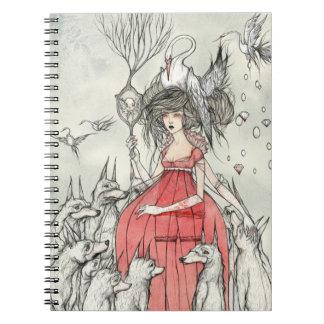 St. Bride Spiral Notebook
