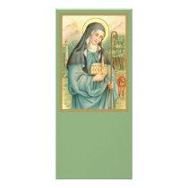 St. Brigid of Ireland (M 014) Rack Card