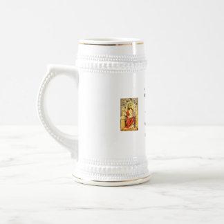 St. Brigid of Ireland Stein/Mug Beer Stein