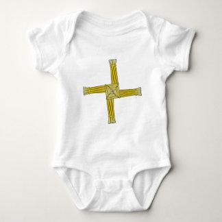 St. Brigid's Cross Baby Bodysuit