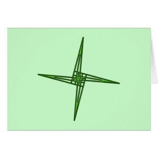 St. Brigids cruz cross Irlanda país de irlandés Tarjeta De Felicitación
