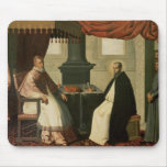 St. Bruno  and Pope Urban II  1630-35 Mousepads