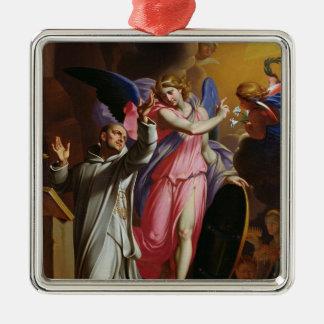 St. Bruno at Prayer, 1671 Metal Ornament