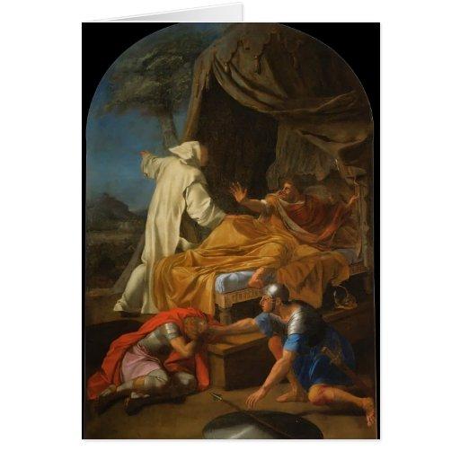 St. Bruno de Eustache Le Sueur- que aparece a Comt Felicitación