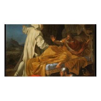 St. Bruno de Eustache Le Sueur- que aparece a Comt Tarjeta De Negocio