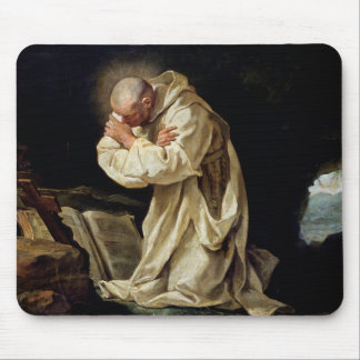 St. Bruno  Praying in the Desert, 1763 Mouse Pad