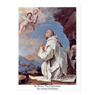St. Bruno The Carthusian By Jusepe De Ribera Postcard
