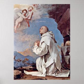 St. Bruno the Carthusian by Jusepe de Ribera Poster