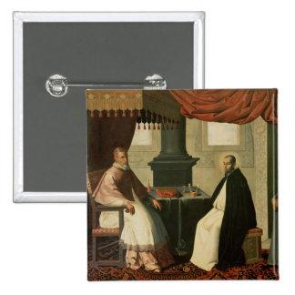 St. Bruno y papa Urbano II 1630-35 Pins