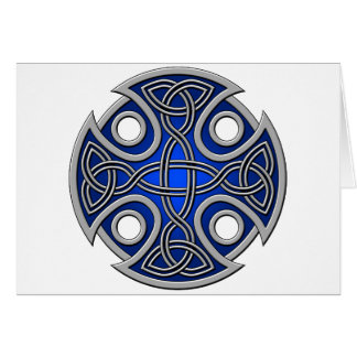 St. Brynach's Cross blue and grey Card