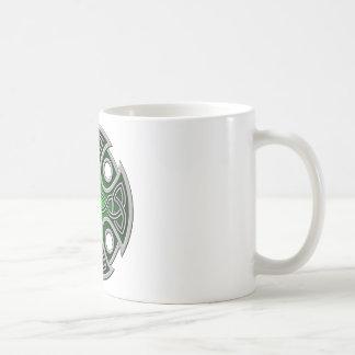 St. Brynach's Cross green and grey Mugs
