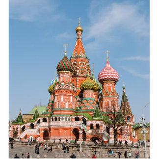 St. Catedral de la albahaca en Moscú Escultura Fotografica