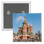 St. Catedral de la albahaca en Moscú Pins