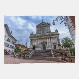 St. Catedral del Ursus, Solothurn, Suiza Toalla De Mano