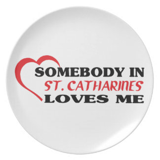 ST. CATHARINE DINNER PLATE