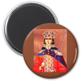 st. catherine 2 inch round magnet