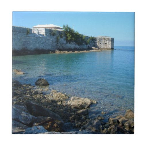 St. Catherine, Bermudas del fuerte Azulejos Cerámicos