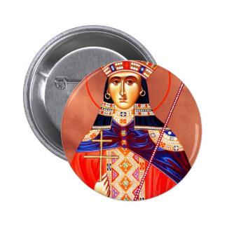 st. catherine 2 inch round button