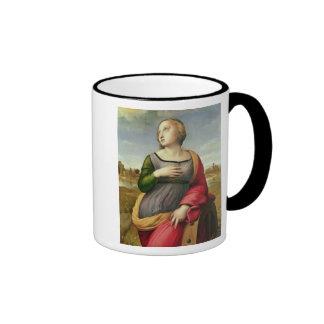 St. Catherine de Alexandría, 1507-8 Taza A Dos Colores
