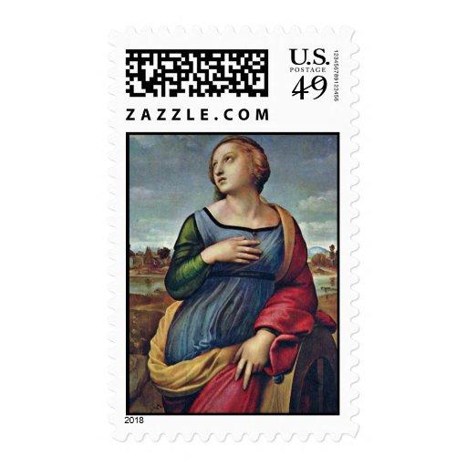 St. Catherine de Alexandría de Raffael Envio