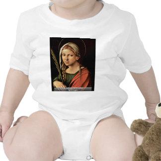 St Catherine de Alexandría por Correggio Trajes De Bebé
