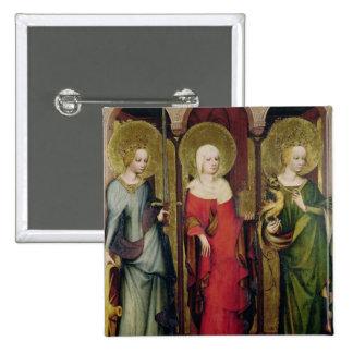 St. Catherine de Alexandría, St Mary Pin Cuadrada 5 Cm