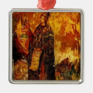 St. Catherine de Pavel Filonov- Ornamento Para Reyes Magos