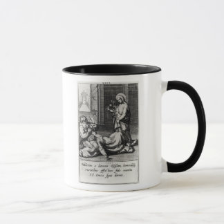 St. Catherine Exorcising a Demon from a Woman Mug