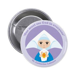 St. Catherine Laboure 2 Inch Round Button