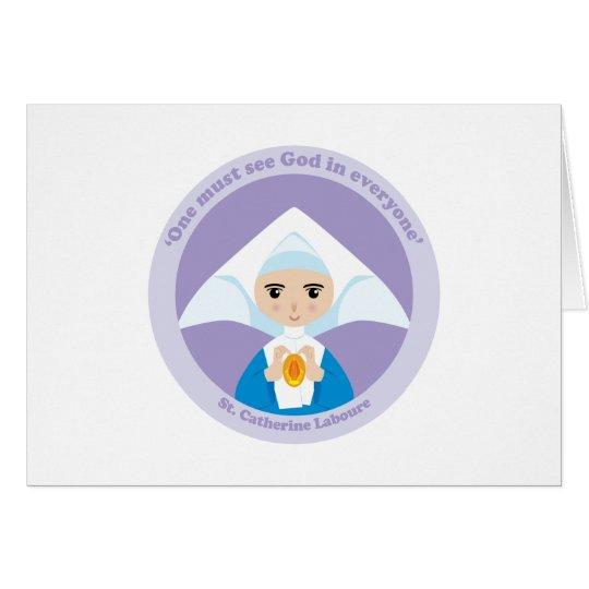 St. Catherine Laboure Card