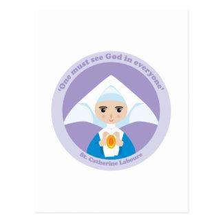 St. Catherine Laboure Postcard