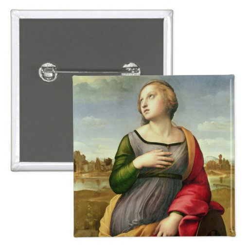 St. Catherine of Alexandria, 1507-8 Pinback Buttons