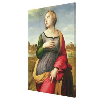St. Catherine of Alexandria, 1507-8 Canvas Print